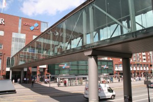 Fußgängerbrücke Bahnhof-Sophienhof, Kiel