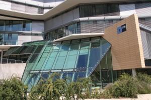 IHK Kiel  Projekt: Glasfassade der Cafeteria